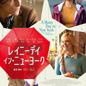 映画『レイニーデイ・イン・ニューヨーク』★雨のNYで一皮むけた彼氏の恋♪