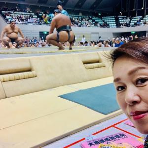 大相撲観戦に行きましたよ