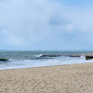 海で浄化しようと思ったら、寒すぎた…