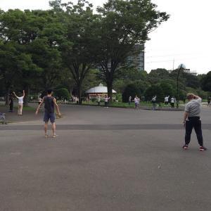 駒沢公園のラジオ体操は2020夏も毎朝やってます