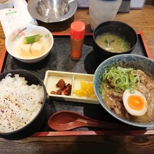 どて焼き定食@旬鮮 鉄板厨房 花や(大阪市中央区内本町)