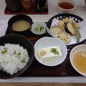 豆ごはん定食 @天友(船場センタービル3号館)