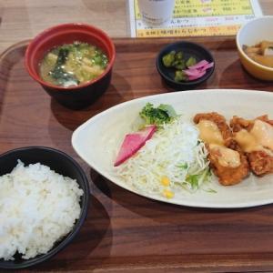 鶏のからあげ オーロラソース@米どころん スーパーホテル西本町店(大阪市西区西本町)