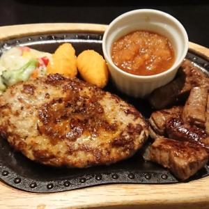 ハンバーグ&コロコロステーキほか@びっくりドンキー サンシャインワーフ神戸店