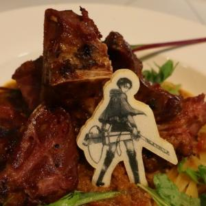 リヴァイ兵士長のミートソースパスタ@リーブス商会カフェ ヒラカタ支店(ひらかたパーク・マジカルラグーンキッチン)