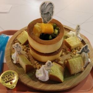 ウォールパンケーキ@リーブス商会カフェ ヒラカタ支店(ひらかたパーク・マジカルラグーンキッチン)
