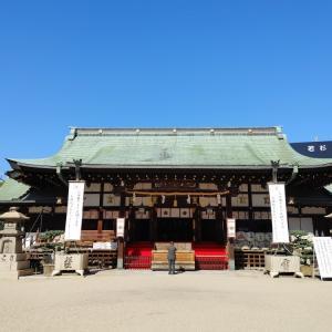 大阪天満宮にお参りしました。