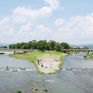 夏の相国寺と京都御所の花