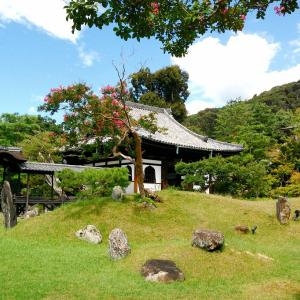 庭園39 高台寺庭園 小堀遠州の池泉回遊式庭園