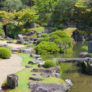 庭園41 醍醐寺塔頭三宝院門跡 豊臣秀吉作庭の名庭園
