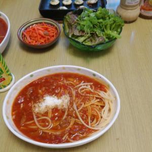 畑の野菜で料理を作りました