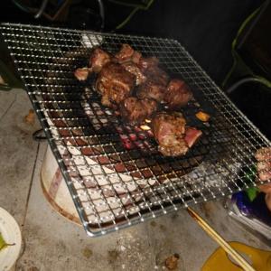 焼き肉をしました