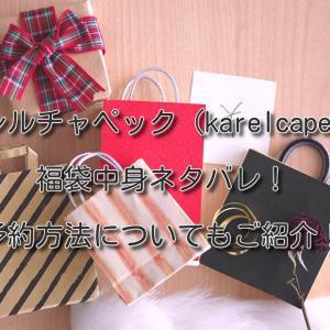 【カレルチャペック(karelcapek)】福袋2021年中身ネタバレ!予約方法についてもご紹介!