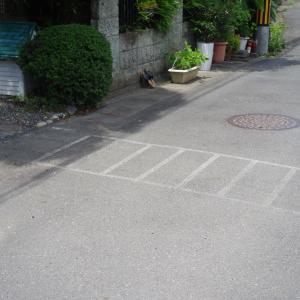 私設横断歩道