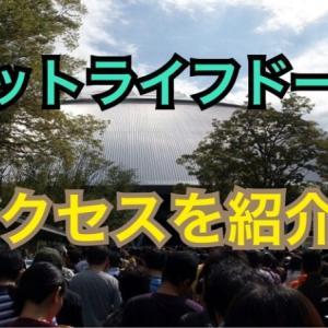 【球場アクセス】メットライフドームへの行き方を紹介