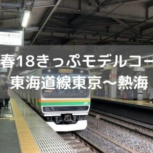 【初心者にもおすすめ】青春18きっぷモデルコース東海道線東京~熱海