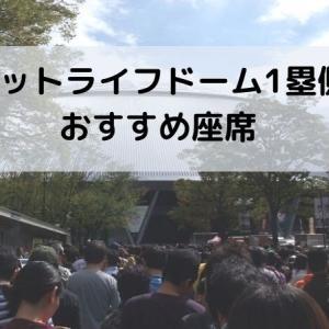 【ビジターファン向け】メットライフドーム1塁側座席を紹介!