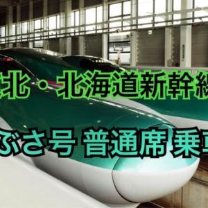 東北・北海道新幹線E5系はやぶさ乗車記