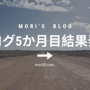 ブログ5か月目結果発表【2019年8月期】