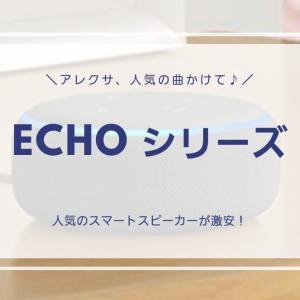 8/18までがオススメ!スマートスピーカーEchoシリーズAmazonミュージックとの併用で格安!