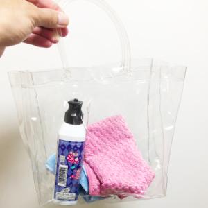 バイク洗車に100均のビニールバッグに水を入れてどこでも洗える方法
