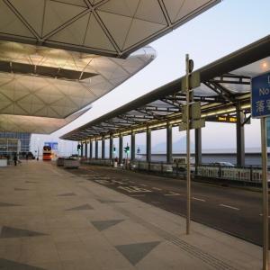 マカオ市内から港珠澳大橋を利用してバスで香港国際空港へ 2020年その02