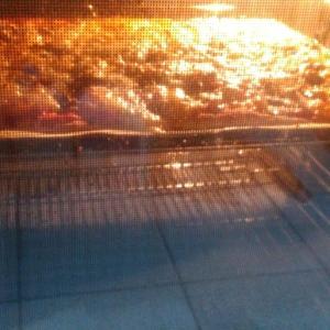 雪の翌日と自家製酵母パン