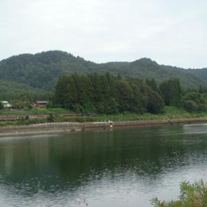磐越西線 津川漕艇場