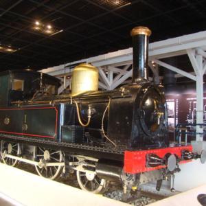 大宮鉄道博物館 1号機関車