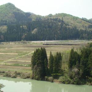 昔のSLの写真(688) 磐越西線 上野尻
