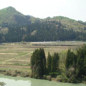 昔のSLの写真(689) 磐越西線 上野尻