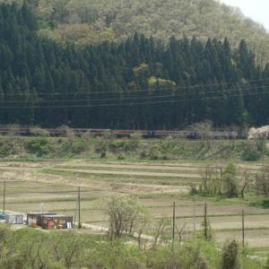 昔のSLの写真(693) 磐越西線 尾登