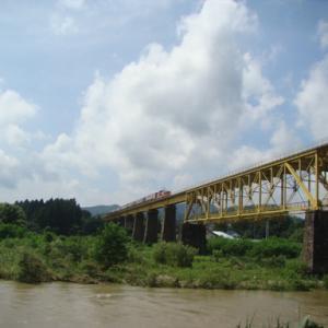 磐越西線 一の戸鉄橋