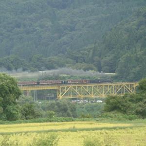 磐越西線 一の戸鉄橋 2020年9月20日