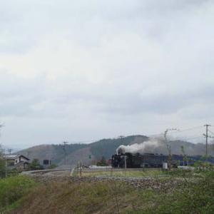 昔のSLの写真(730) 釜石線 平倉