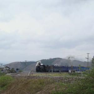 昔のSLの写真(731) 釜石線 平倉