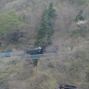 昔のSLの写真(737) 釜石線 上有住