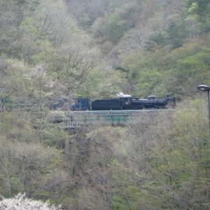 昔のSLの写真(738) 釜石線 上有住