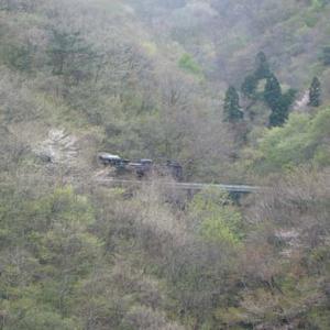 昔のSLの写真(739) 釜石線 上有住