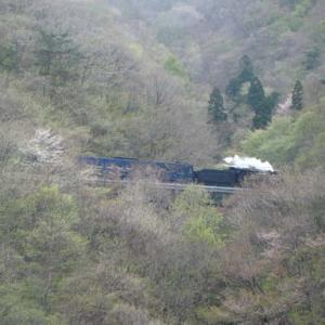昔のSLの写真(740) 釜石線 上有住