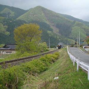 昔のSLの写真(742) 釜石線 洞泉