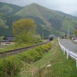 昔のSLの写真(743) 釜石線 洞泉