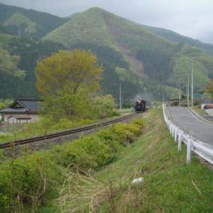 昔のSLの写真(744) 釜石線 洞泉