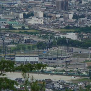 大岡山からの俯瞰