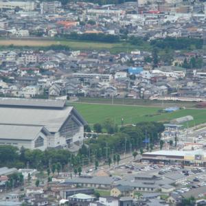 大岡山からの俯瞰 落合