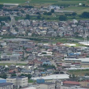 大岡山からの俯瞰 仙山線
