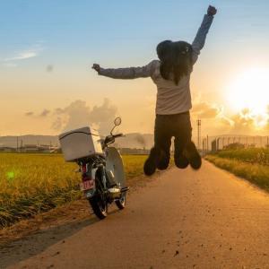 【カブ女子】スーパーカブc125のバイク旅!【走行距離250~300Km】山梨→石川~祝1000キロ~