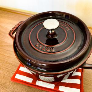 憧れの鋳物ホーロー鍋 ストウブ