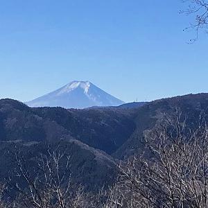 今日の浅間嶺からの富士山