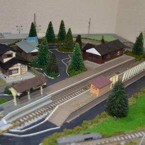 (N)レイアウト製作 ローカル駅の整備しました。